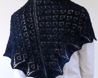 PATTERN - Elvish Singing Shawlette Knitting Pattern PDF