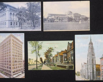 Post Cards, Chicago Buildings, 1905