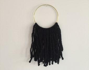 Black Hoop Dreamcatcher