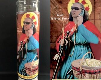 BBQ Becky Devotional Prayer Saint Candle