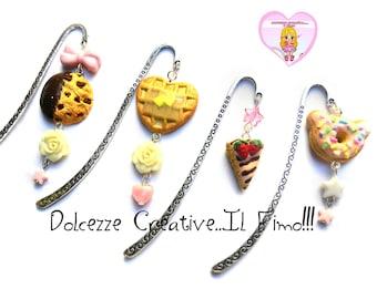 Bookmark - bear donut pastel goth kawaii handmade gift idea