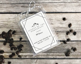 coffee scented - coffee scented wax melts - coffee scented soy wax melts - coffee - wax melts soy - soy wax melts - all natural wax melts