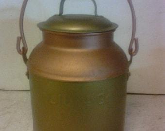 4 qt.  milk pail