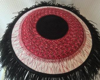 Bloodshot Eyeball Hat