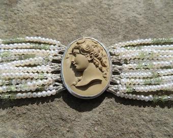 Gemstone Bracelet, Lava Cameo Jewelry, Goddess Diana, Cameo Jewelry Vintage, Brooch, Vintage Lava Jewelry, Victorian Lava, Victorian Cameo