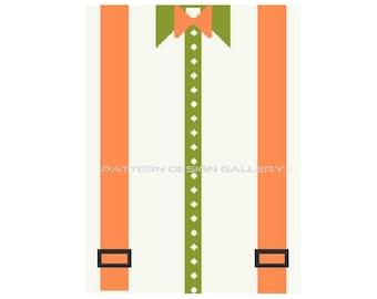 Bow Tie Suspenders Graphgan Afghan Crochet Pattern Crochet Graph Pattern PDF Instant Download