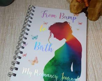Pregnancy Journal, pregnancy planner, my Pregnancy, baby journal, baby scrapbook, baby book, pregnancy book, bump to birth, scrapbook,