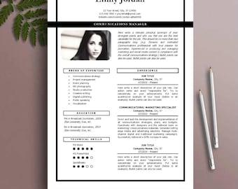 Resume Template, CV Template