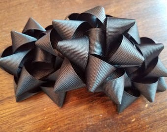 Gift bow etsy black gift bow hairbow negle Image collections