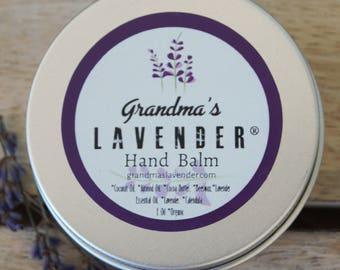 Grandma's Lavender Hand Balm