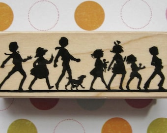 It's a Parade, Children - Hero Arts Rubber Stamp