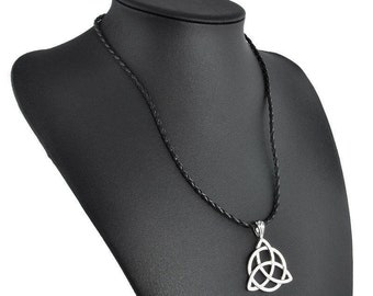 Triquetra Celtic Knot necklace