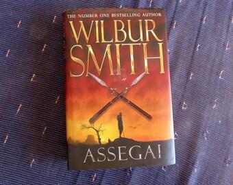 Hollow Book Safe 'Assegai' Wilbur Smith - Handmade, Secret Storage, Valuables, Letters