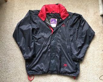 Men's Vintage 90s Helly Hansen Mountain Rain Windbreaker Jacket Size Xl