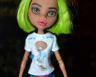 Ooak Claudine Wolf Doll