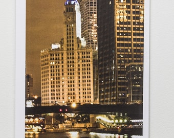 2018 Calendar Chicago High-Quality Printing- 11x14 Wall or 8x10 Desk Calendar