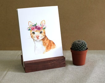 """Cat Greeting Card 
