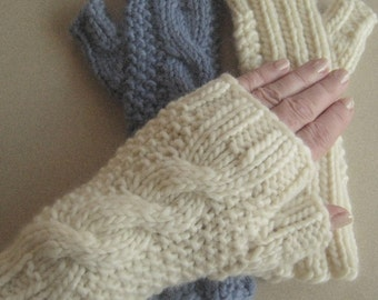 Knitting Pattern January Mitts