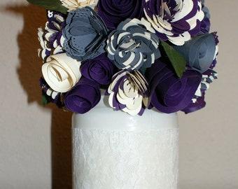 Handmade Paper Flower Centerpiece (Large)