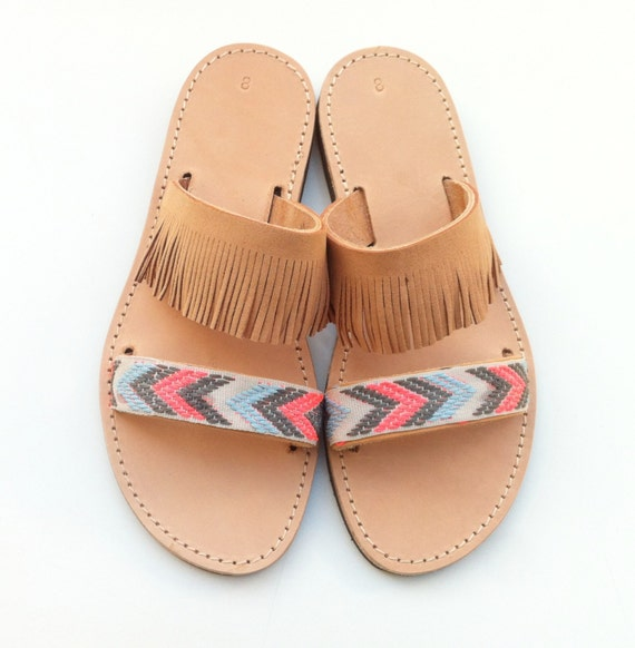 Boho leather Boho chic Sandals sandals Hippie sandals v1wxzwtR