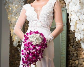 Garofano- Ivanna Jewelry Bouquet- Brooch Bouquet