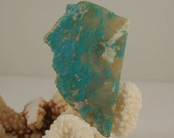Chrysocolla With Quartz Slab 11.1 gram 56 mm x 36 mm (Slab 4)