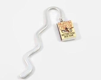 And Then There Were None (Agatha Christie) mini book bookmark