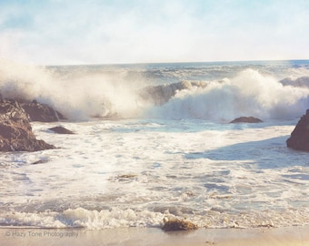 Surf Art Print, Beach Photography, Ocean Decor, Wave Picture, Southern California, Wall Art, Laguna Beach, Wall Decor, 8 x 10 Print