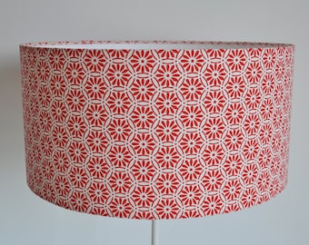 Lampshade / Cylindrical suspension - drum - modern -  lamp - ceiling lamp