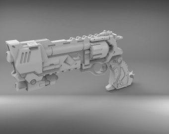 Blackwatch Mccree's revolver gun 3D PRINTING FILES