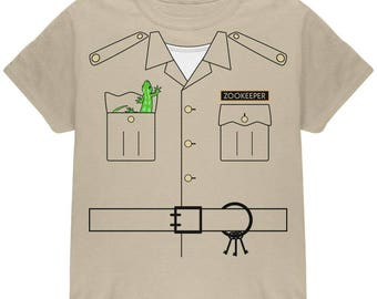 Halloween Zookeeper Costume Youth T Shirt