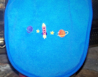 Outer Space Baby Bib