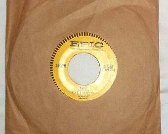 Vintage 45 RPM Vinyl Epic Record Roy Hamilton