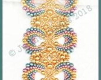 Beaded Bracelet Tutorial - Calypso Bracelet - Peyote Stitch