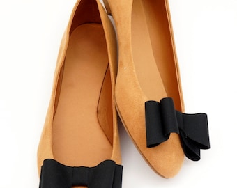 Black bows - shoe clips Manuu, shoe accessories, classic bows, elegant shoe clips,shoe clips for pumps
