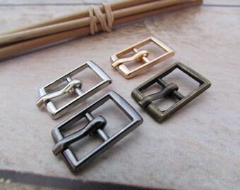 4 belt buckle for strap 7mm, 8mm, 9mm - 4 colors - 3 designs