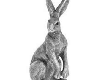 Silver Bunny Ornament