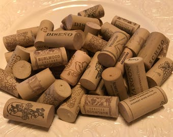 50 Wine Corks Used Synthetic