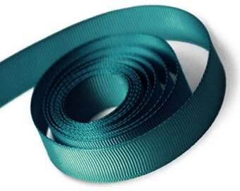 Teal Grosgrain Ribbon 15mm and 23mm Rolls Available