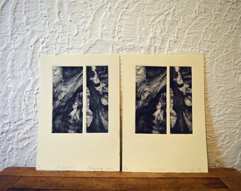 Original Etching: 'The Deep Ones' (photo-etching)