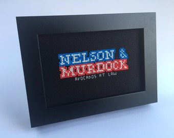 PDF Nelson & Murdock: Avocados at Law inspired by Marvel Netflix show Daredevil and Law and Order