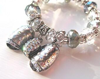 "Bow Bracelet ""  Lady Carmelina """