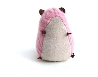 Pink Cashmere Sweater Scrap Hamster