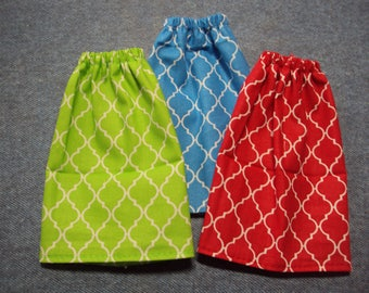 "Wavy Diamond Themed Skirt for Barbie Dolls ~ Clothes for 11 1/2"" Fashion Dolls"