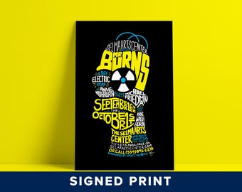 Mr. Burns, A Post-Electric Play - Signed Print