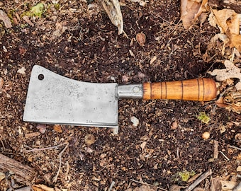 American Knife Company meat cleaver