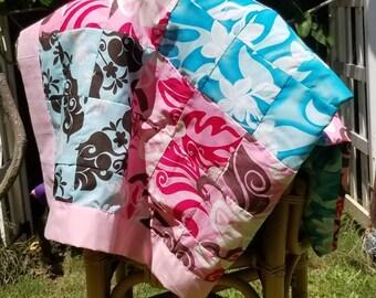 Hawaiian Patch Quilt