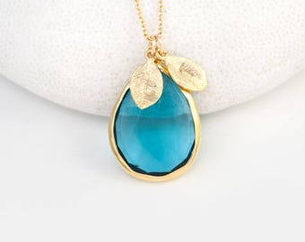 topaz gold diamond white necklace pendant blue zamels and in set product