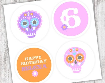 Sugar Skull #Party #Stickers