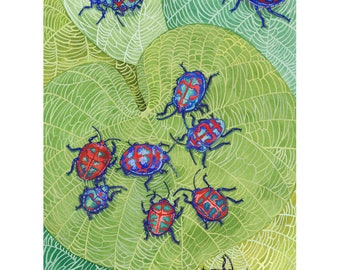 Art Print - Jewel Beetles